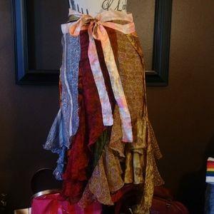 Beautiful boho wrap skirt